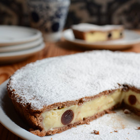Torta de Nutella con Crema de Mascarpone