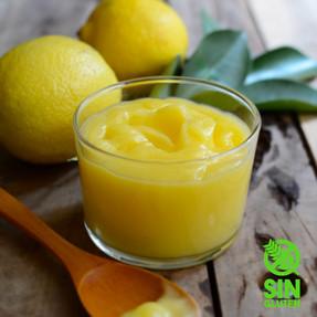 Curd de Limón - Crema de Lemon Pie - Crema de Limón Para Rellenar Tortas o  Bases de Mousses