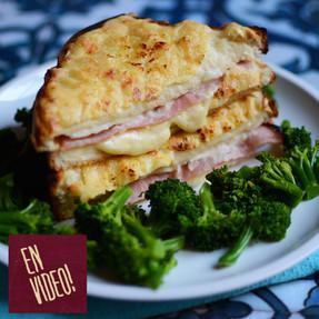Sandwiche Croque + Salsa Bechamel