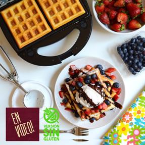 Waffles - Masa Básica Dulce o Salado