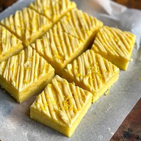 Cuadrados de Limón - Blondies de Limón  - Brownies de Limón