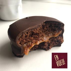 Alfajores Marplatense - Alfajor de Chocolate y Dulce de Leche