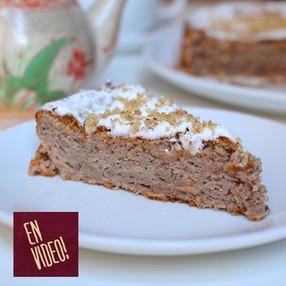 Torta Esponjosa de Manzana