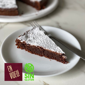 Torta Caprese - Torta de Chocolate Caprese