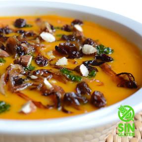 Sopa de Zanahorias y 5 Especias