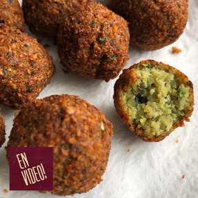 Falafel - Croquetas de Garbanzos