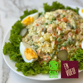 Ensalada Olivier - La verdadera ensalada Rusa
