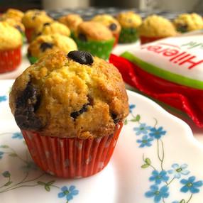 Muffins de Naranja y Chocolate