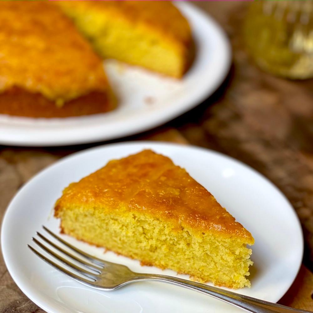 torta de naranja siciliana