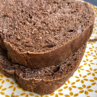 Pan de Molde de Cacao