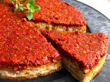 Tarta salada de Ricotta y Tomates Secos