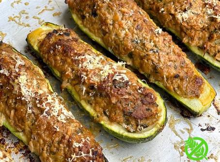 Zucchini Rellenos de Atún