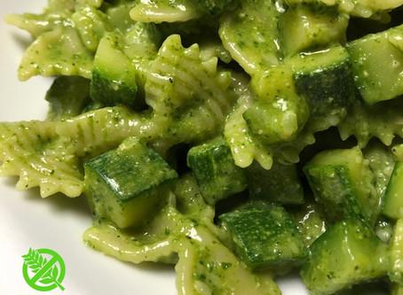 Salsa de Pesto y Zucchini
