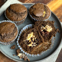 Muffins de Cheese Cake y Chocolate
