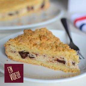Tarta de Ricotta y Chocolate - Sbriciolata