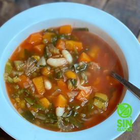 Minestrone de Verduras y Porotos