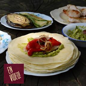 Tortillas de Trigo Para Burritos, Tacos y Fajitas