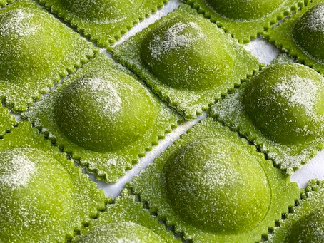 Masa Verde para Pastas - Masa de Rúcula para Pastas