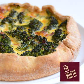Tarta de Brócoli - Receta de Masa y Relleno