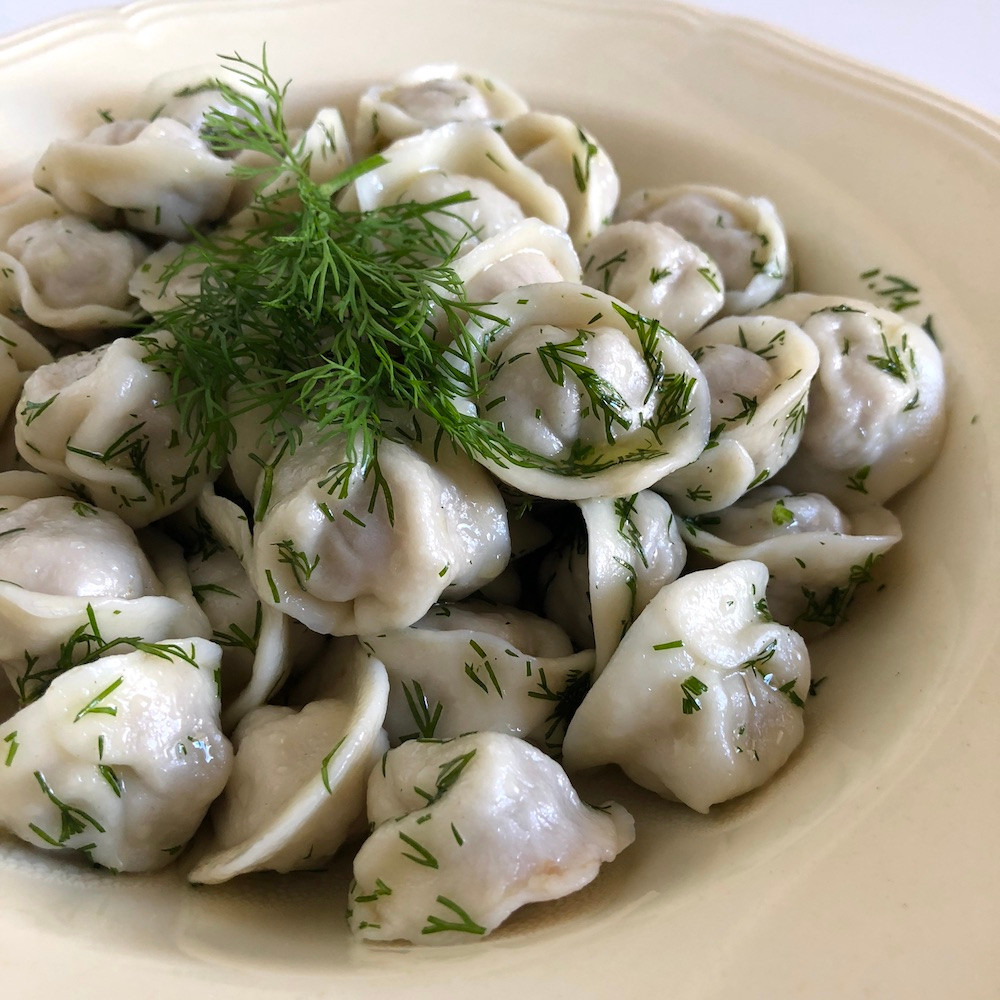 pelmeni pasta típica rusa varenike Rusia