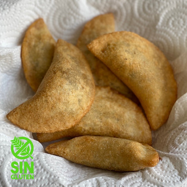 Empanadas de Mandioca con Relleno de Cerdo 5 Especias