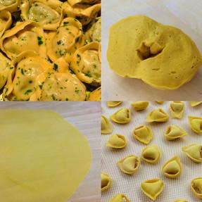 Tortelloni - Masa y Relleno