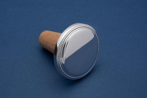 Silber Flaschenkorken Perl (im Etui)
