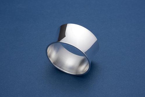 Silber Serviettenring Rund groß (im Geschenketui)