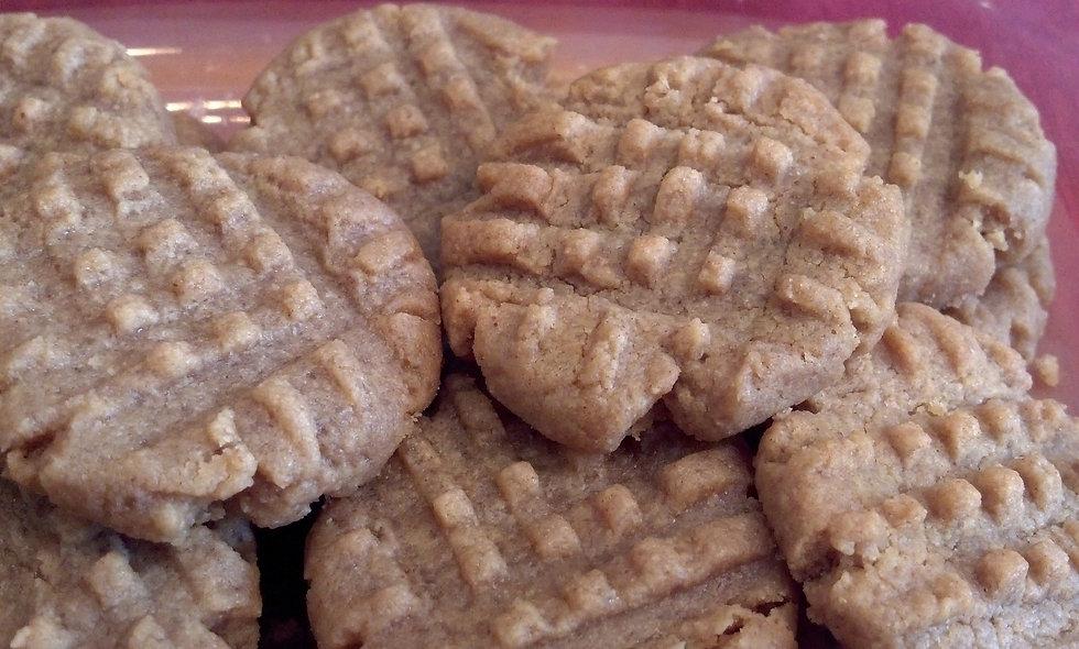 Peanut Butter Cookies (1/2 dozen)