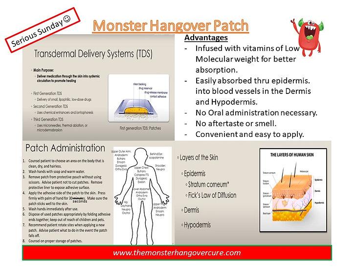 Transdermal Patch Advantages How it work