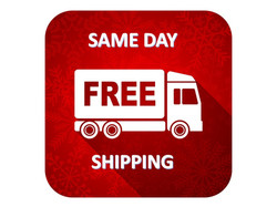 FREE SAME DAY SHIPPING
