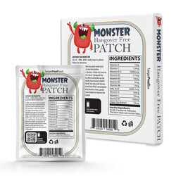 Monster PATCH 3D back