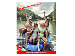 Girls on the lake-we love our customers