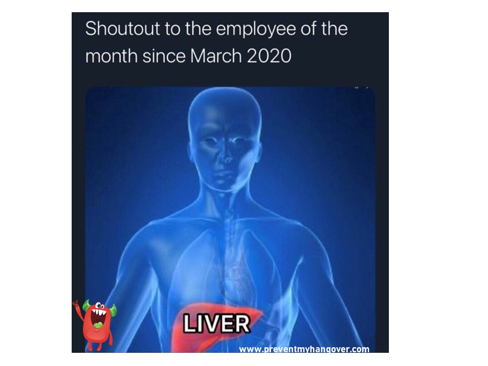 MY liver employee of the year