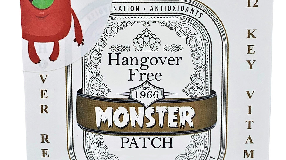 Monster Hangover Patch (8000+ SOLD) Single Sleeve