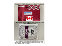 Free shipping to CANADA with Krystal proof