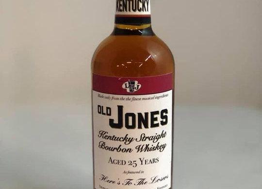 Old Jones Bourbon Bottle