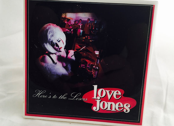 "Love Jones ""Here's To The Losers"" LP Cover Ceramic Drink Coaster (1 of 4)"