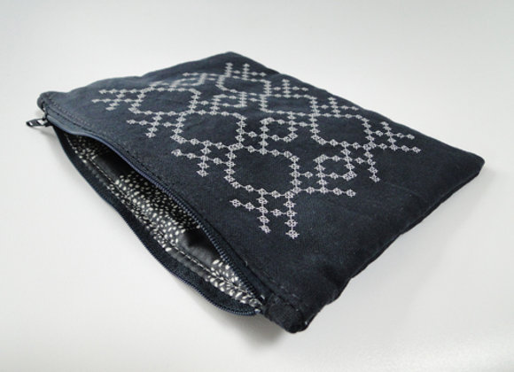Mila Large Zipped Clutch Pouch