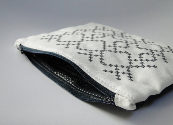 Mila Large Zipped Pouch