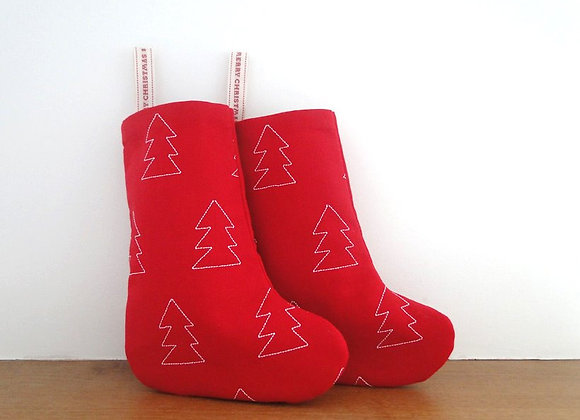 Small Christmas Tree Stocking