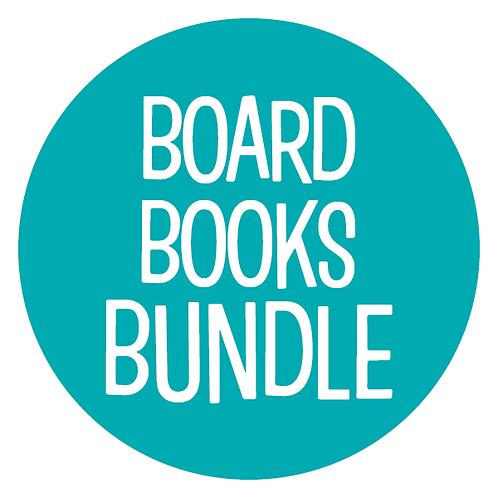 Blue Dot Book Bundle: Board Books