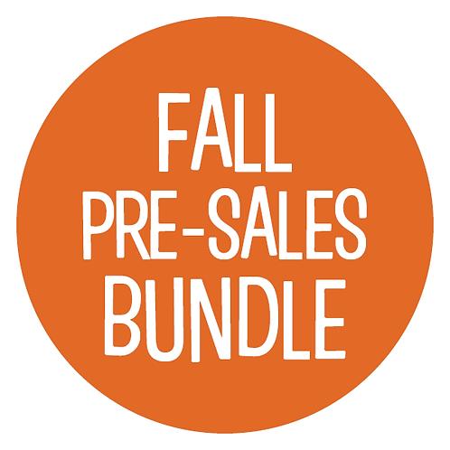 Blue Dot Book Bundle: Fall Pre-Sales