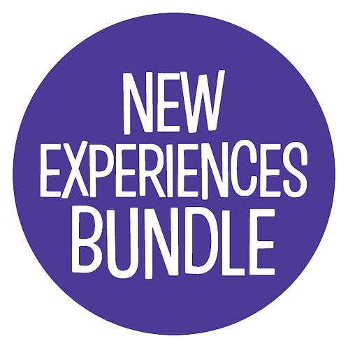 Blue Dot Book Bundle: New Experiences