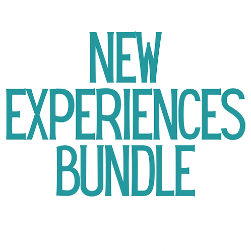 Blue Dot Book Bundle: New Experiences