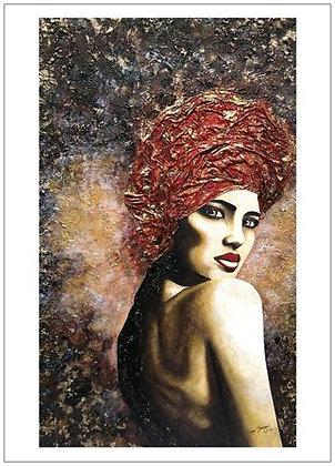 """Black Heart"" Art Print"
