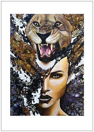 """My Leo"" Art Print"