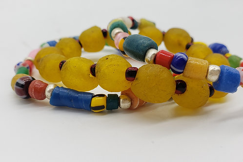 Inspired: Africa- Festive Bracelet set