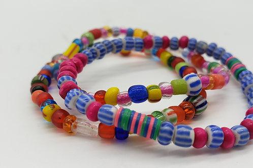 Inspired: Africa- Festive Bracelet set *for kids