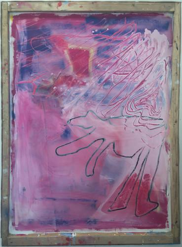 untitled pink wood (2019)